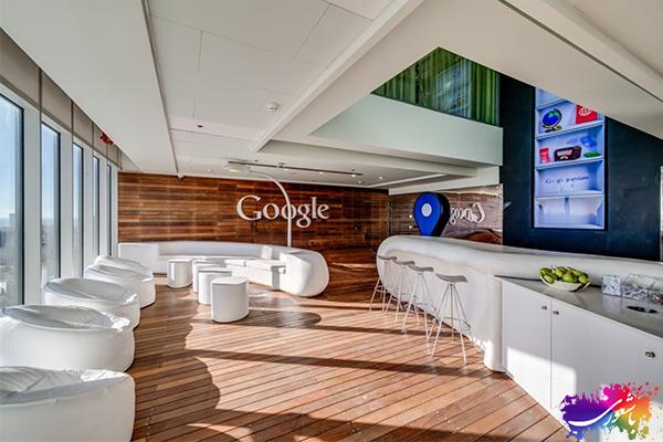 دکوراسیون شرکت گوگل