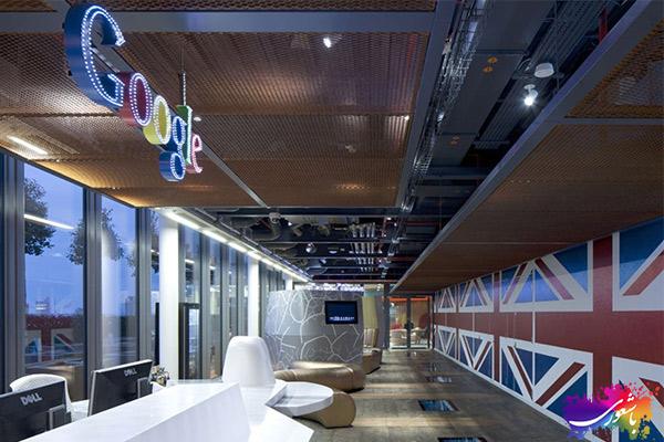 طراحی داخلی شرکت گوگل