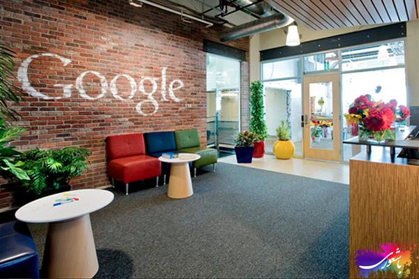 دیزاین داخلی شرکت گوگل