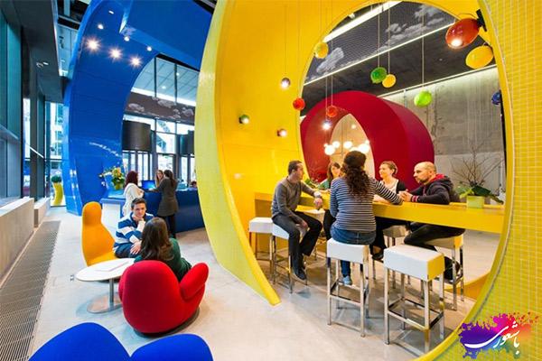 فضای داخلی شرکت گوگل
