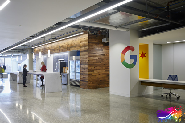 فضای داخلی گوگل
