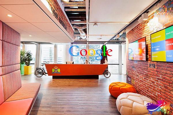 دفاتر شرکت گوگل