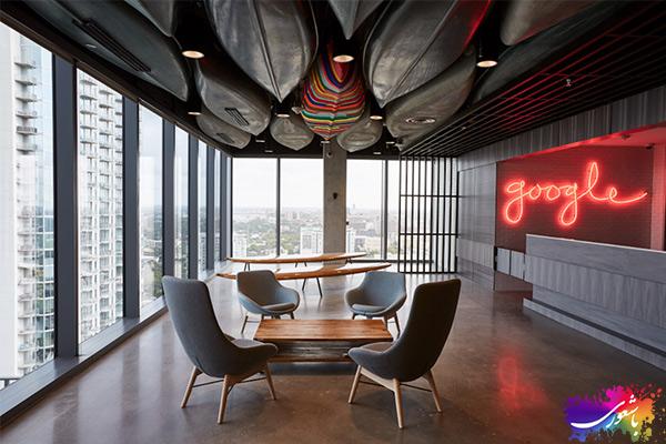 کافه دکوراسیون شرکت گوگل