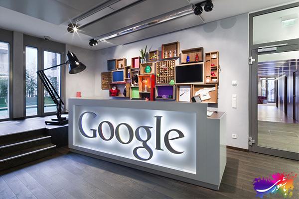 دکوراسیون شیک کمپانی گوگل