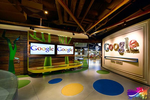 سالن های شرکت گوگل