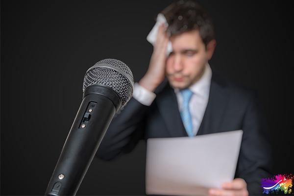 کاهش استرس در سخنرانی
