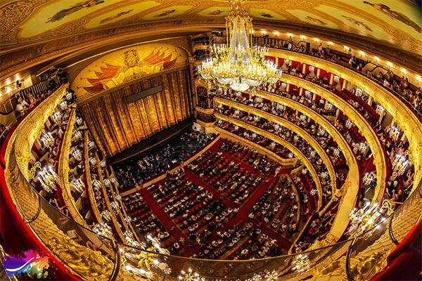 سالن تئاتر بولشوی