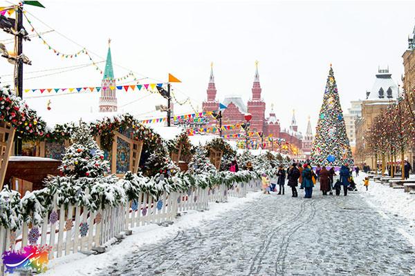 آب و هوای شهر مسکو