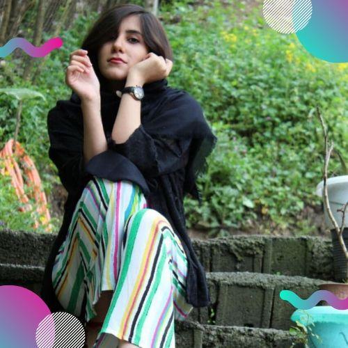 ژست عکس دخترانه ایرانی برای پروفایل