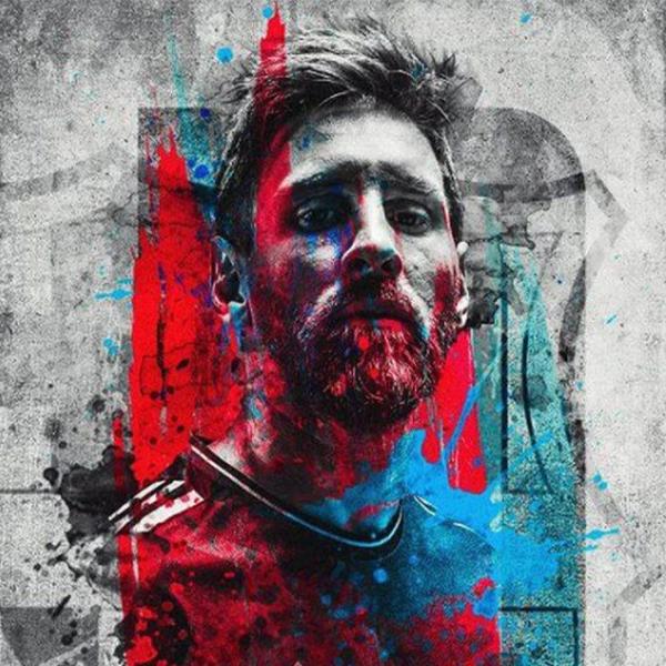 عکس از مسی برای پروفایل