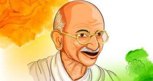 عکس نوشته سخنان گاندی
