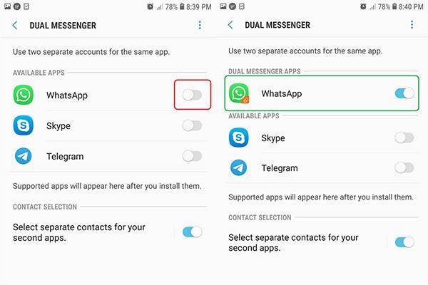 چگونه در واتساپ دو حساب داشته باشیم