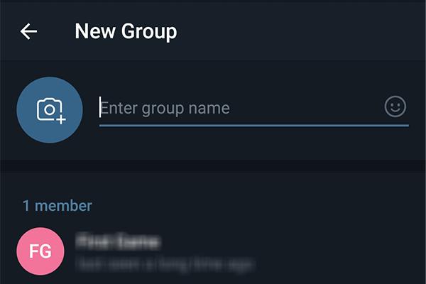طرز ساختن گروه در تلگرام