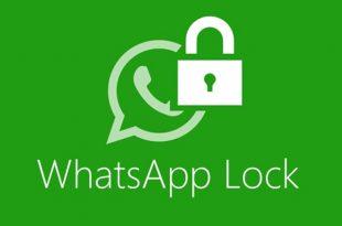 چگونه برای واتساپ قفل بگذاریم