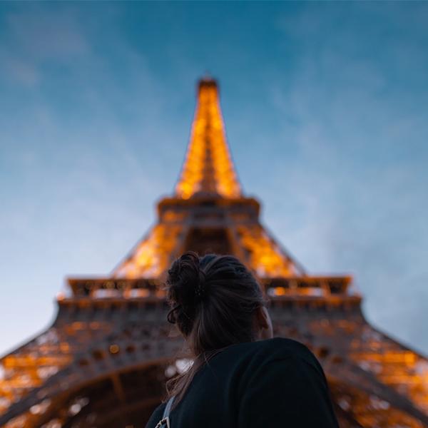 عکس برج ایفل فانتزی دخترانه