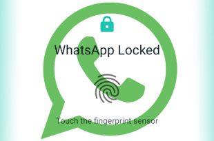چگونه برای واتساپ قفل اثر انگشت بگذاریم