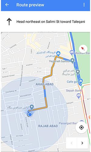 گوگل مپ چگونه کار میکند
