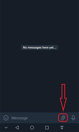 عکس به صورت فایل در تلگرام