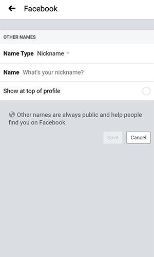 چگونه نام کاربری فیسبوک را تغییر دهیم