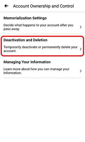 چگونه حساب کاربری فیسبوک را حذف کنیم