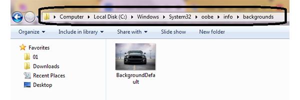 نرم افزار تغییر صفحه لاگین ویندوز 7